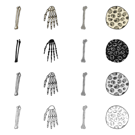 Vector design of medicine and clinic symbol. Collection of medicine and medical vector icon for stock.