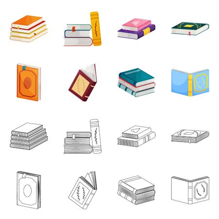 Ilustración de vector de entrenamiento y logo de portada. Colección de símbolo de stock de formación y librería para web. Logos