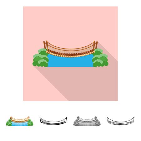 Objet isolé d'icône de connexion et de conception. Ensemble de connexion et d'illustration vectorielle stock côté. Vecteurs