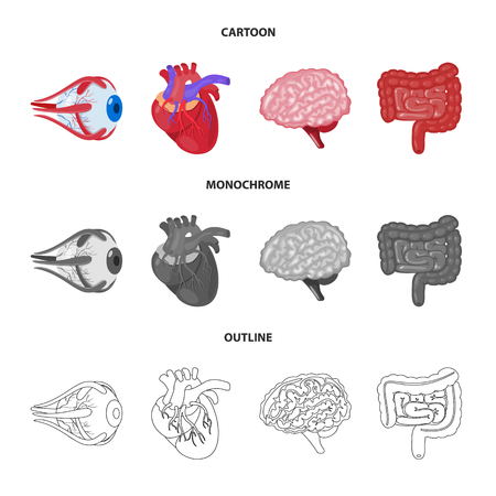 Vector design of biology and scientific icon. Set of biology and laboratory vector icon for stock.