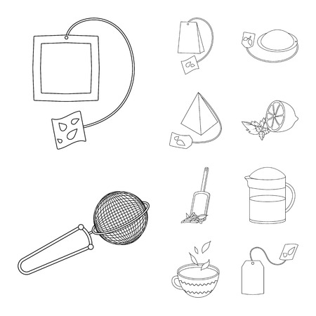 Vector design of food and natural  icon. Set of food and black  stock symbol for web.