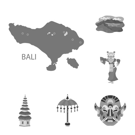Isolated object of asian and geography icon. Collection of asian and tourism vector icon for stock.