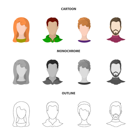 Vector design of professional and photo. Set of professional and profile stock vector illustration.