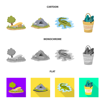 Vector design of nature  and fun  icon. Collection of nature  and entertainment stock vector illustration.