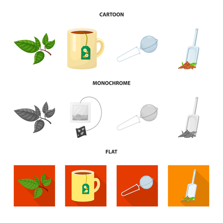 Isolated object of healthy and floral. Collection of healthy and gradient vector icon for stock.