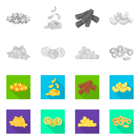 Isolated object of Oktoberfest and bar symbol. Set of Oktoberfest and cooking stock symbol for web.
