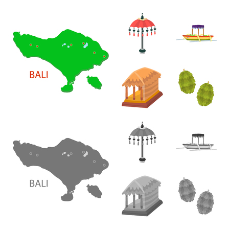 Isolated object of and travel. Set of  and traditional vector icon for stock. Illustration