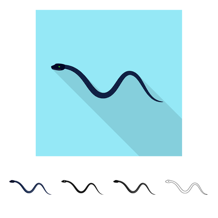 Isolated object of mammal and danger icon. Set of mammal and medicine stock symbol for web.