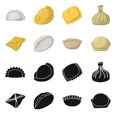 Vector illustration of products  and cooking. Set of products  and appetizer stock vector illustration. Banque d'images - 120437681