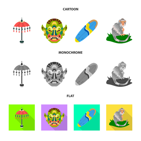 Isolated object of  and travel symbol. Set of  and traditional vector icon for stock. Illustration