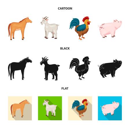 Vector illustration of breeding and kitchen  icon. Set of breeding and organic  stock vector illustration.