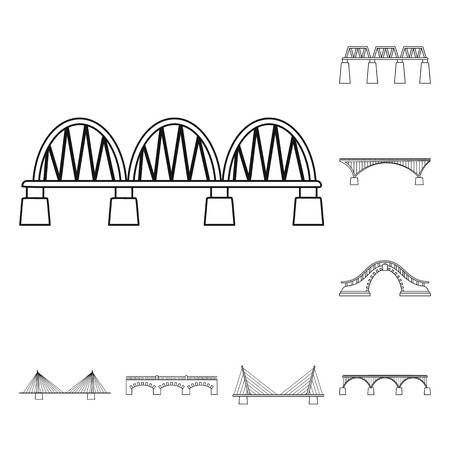 Ilustracja wektorowa znaku wzroku i połączenia. Kolekcja wzroku i konstrukcji Stockowa ilustracja wektorowa.