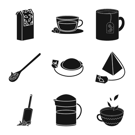 Vector illustration of medicine and gradient icon. Set of medicine and natural  vector icon for stock. Stock Illustratie