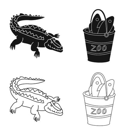 Vector design of nature  and fun  icon. Collection of nature  and entertainment vector icon for stock.