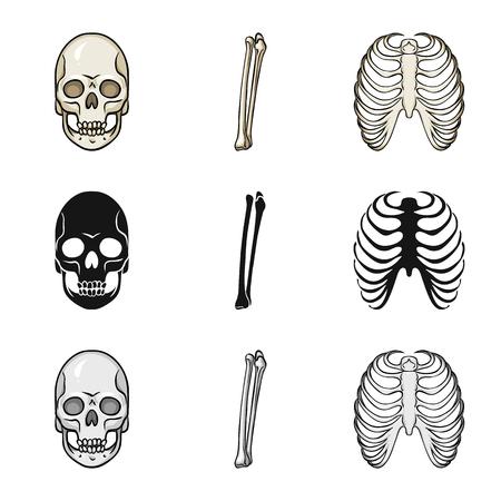 Vector illustration of medicine and clinic symbol. Collection of medicine and medical stock symbol for web. Standard-Bild - 121718643