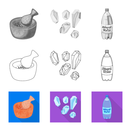 Vector design of cooking and sea icon. Collection of cooking and baking   vector icon for stock.