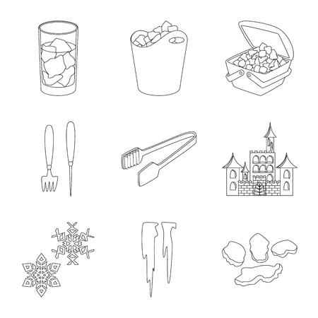 Diseño vectorial de icono limpio y húmedo. Conjunto de símbolo de stock limpio y puro para web. Ilustración de vector