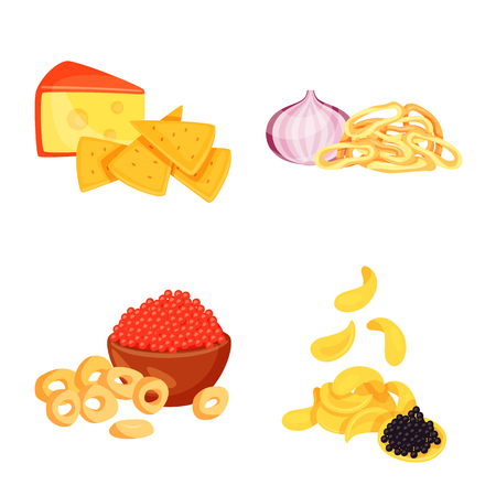 Isolated object of food and product icon. Set of food and party vector icon for stock.