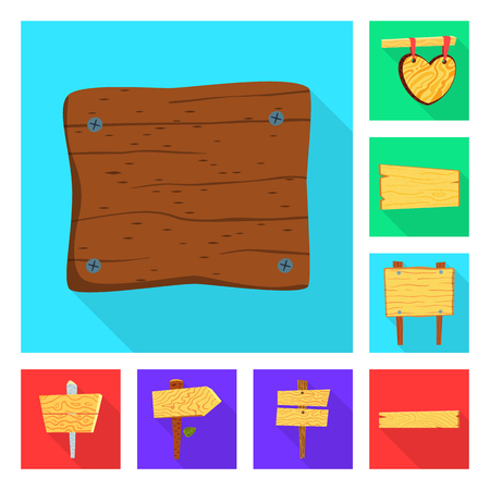 Vector illustration of raw  and wooden. Collection of raw  and forest  vector icon for stock. Illustration