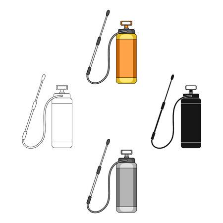 Dispenser for disinfection single icon in cartoon,black,black,outline,monochrome style for design.Pest Control Service vector symbol stock illustration web.