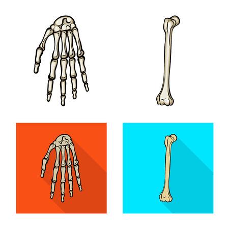 Vector illustration of medicine and clinic icon. Collection of medicine and medical stock vector illustration.