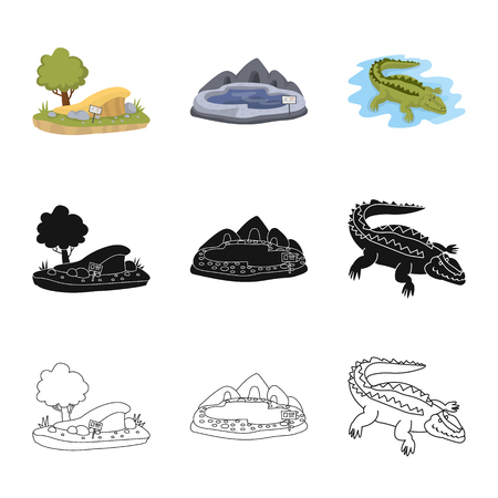 Isolated object of nature  and fun  icon. Collection of nature  and entertainment stock vector illustration.