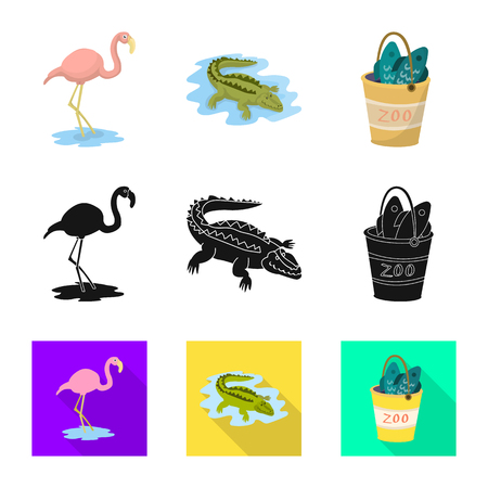 Vector illustration of nature  and fun  icon. Collection of nature  and entertainment stock vector illustration.