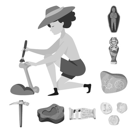 Vector illustration of story and discovery icon. Set of story and items vector icon for stock.