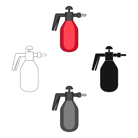 Dispenser for disinfection single icon in cartoon,black,black,outline,monochrome style for design.Pest Control Service vector symbol stock illustration web.