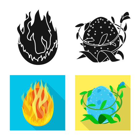 Isolated object of animal and prehistoric. Set of animal and cute vector icon for stock.