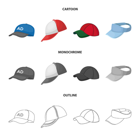 Vector design of sports and baseball icon. Set of sports and sun vector icon for stock.