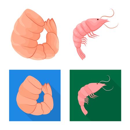 Objet isolé de l'apéritif et de l'océan. Ensemble de symbole boursier apéritif et délicatesse pour le web.