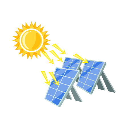 Isolated object of thermal and station. Set of thermal and power stock vector illustration. Иллюстрация