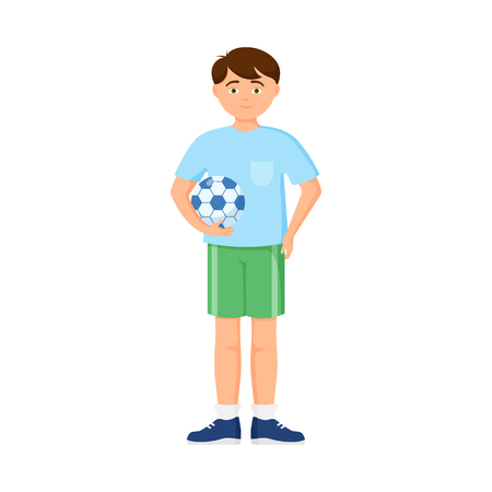 Isolated object of boy and baby symbol. Collection of boy and athlete stock vector illustration.