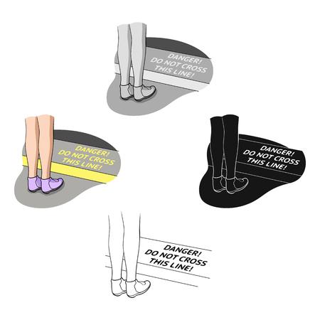 Passenger, single icon in cartoon,black style.Passenger vector symbol stock illustration web. Illustration