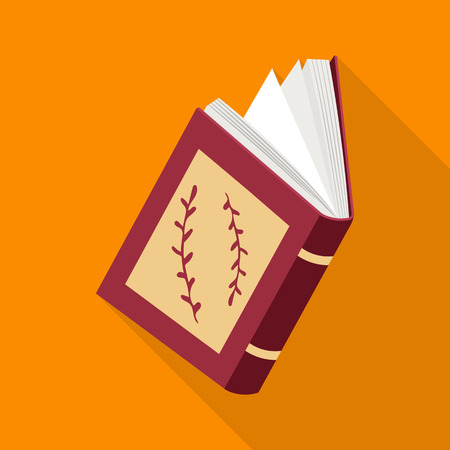 Isolated object of book  and open symbol. Collection of book  and content  vector icon for stock.