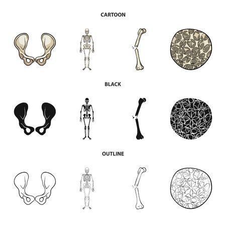 Vector design of medicine and clinic icon. Collection of medicine and medical stock vector illustration.