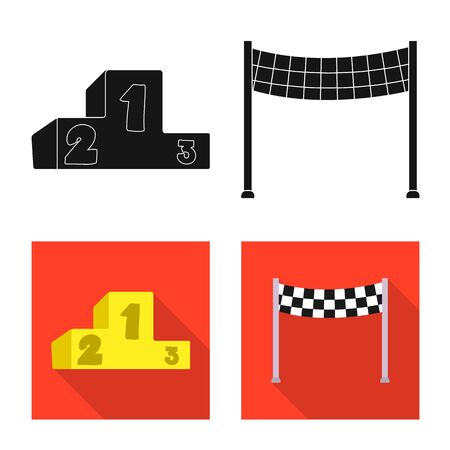 bitmap design of car and rally. Collection of car and race bitmap icon for stock.