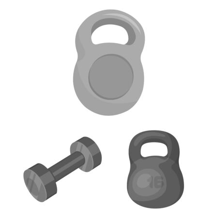bitmap design of weight and lifting icon. Collection of weight and exercise stock bitmap illustration.