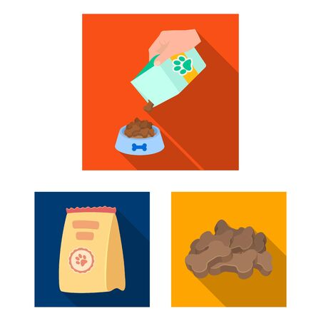 bitmap illustration of food and tin . Set of food and bottle bitmap icon for stock. Stockfoto