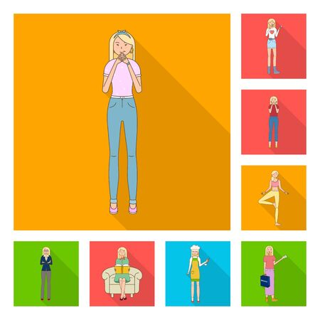 bitmap illustration of woman and body icon. Collection of woman and style bitmap icon for stock.