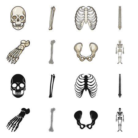 bitmap design of medicine and clinic icon. Set of medicine and medical bitmap icon for stock.