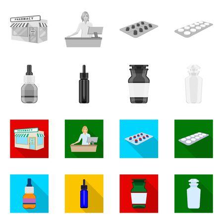 bitmap illustration of retail and healthcare sign. Collection of retail and wellness bitmap icon for stock. Reklamní fotografie