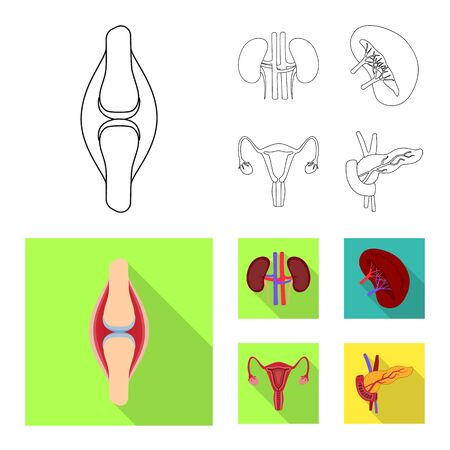 bitmap design of biology and scientific icon. Collection of biology and laboratory stock symbol for web.