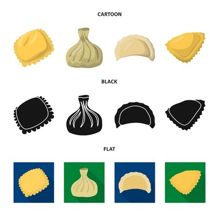 bitmap illustration of products and cooking symbol. Collection of products and appetizer stock bitmap illustration.