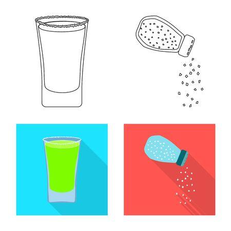 Vector design of salt vector illustration.