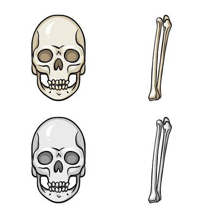 Vector design of medicine and clinic symbol. Set of medicine and medical stock vector illustration. Illustration