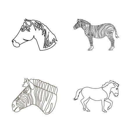 bitmap design of trot and running symbol. Collection of trot and clipart stock symbol for web.