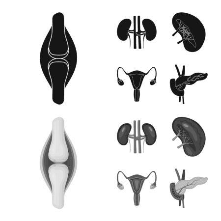 bitmap design of biology and scientific icon. Collection of biology and laboratory bitmap icon for stock. Stock Photo