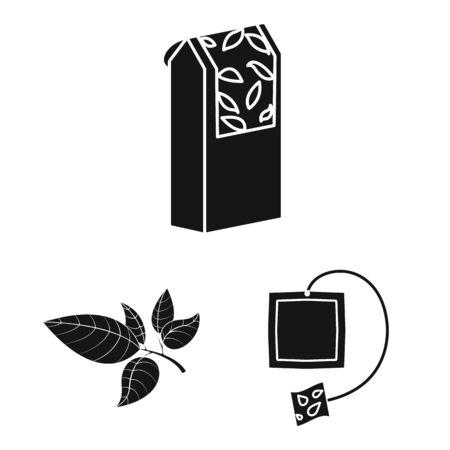 Vector design of medicine and gradient symbol. Collection of medicine and natural vector icon for stock.